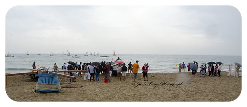Imatges des de la platja.
