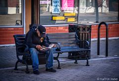 Santa Ana - Man Reading
