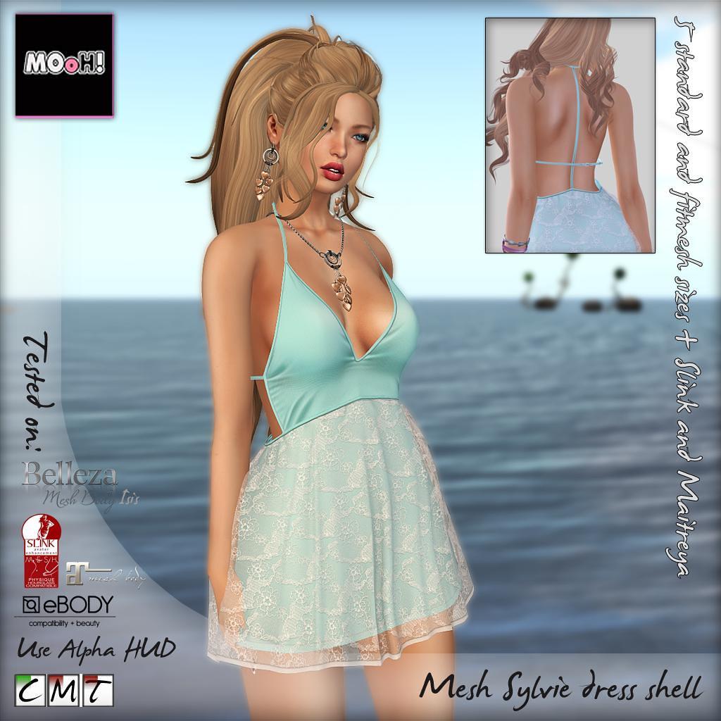 Sylvie dress shell - SecondLifeHub.com