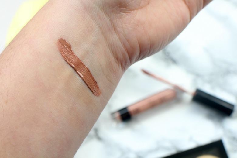 Nip+Fab Liquid Lipstick Biscuit Swatch