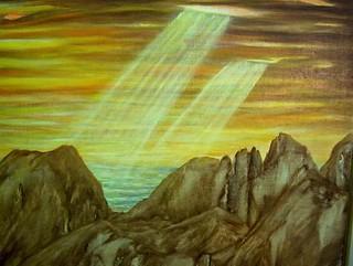 16.- Profil de montagnes abruptes