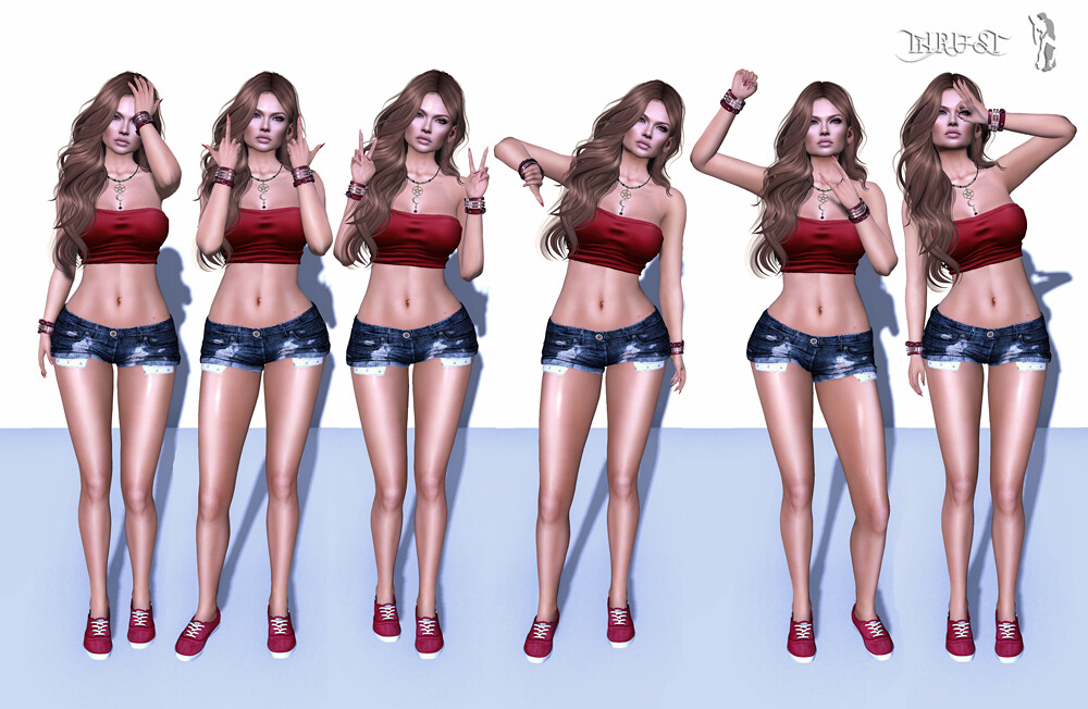 .New at Thrust. - Bento Pose Set 02 - SecondLifeHub.com