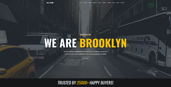 Brooklyn v4.4.5 – Responsive Multi-Purpose WordPress Theme