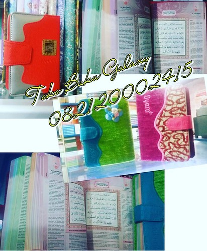 Rp. 79 K diskon Rp. 59 000 Al-Quran rainbow/pelangi terjemah saku, Alquran untuk muslimah/ wanita  Ukuran A6 (15×10cm)  Yang berminat kontak ke Toko Buku GALAXY 112  Lengkong - Bandung WA:  0821 2000 2415  0813 2051 5506  #alquranrainbowA5  #alquranpelang