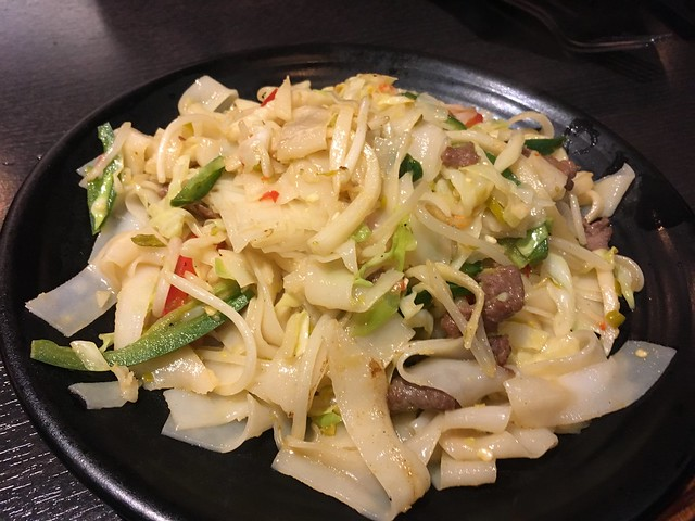 House special spicy beef chow fun - Spices