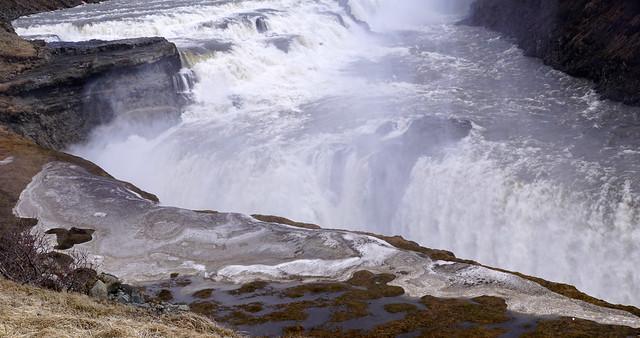 Icekand-Gullfoss Waterfall-No 6, 5-3-2017