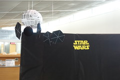 Star Wars Day - Death star and TIE fighters
