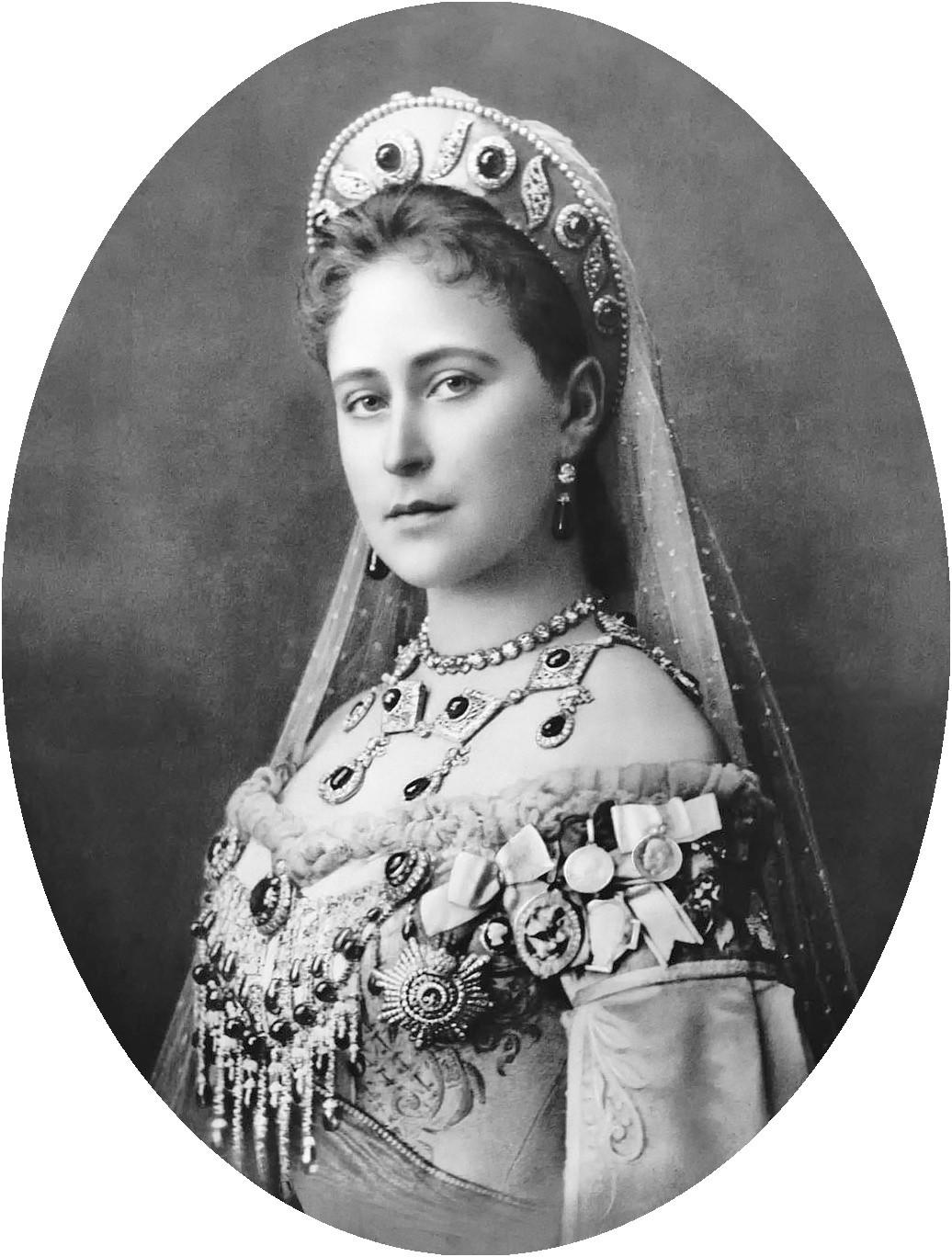 Portrait of the Grand Duchess Elizabeth, 1896