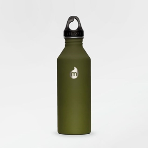 Picture of Vacuum Isolated Hydration Bottle Green