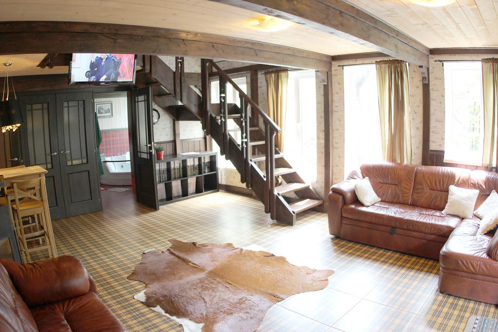 Шестиместный трёхкомнатный VIP дом Канцлера, размещение 4 + 2 + 1, с завтраком, отель Баден Баден в Архипо-Осиповке