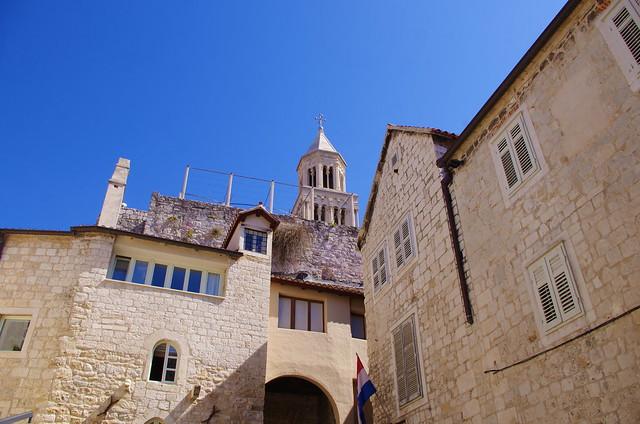 79 - Split, Croatie, Mai 2017 - dans la vieille ville