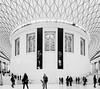 """Enclosed"" British Museum, London, UK"