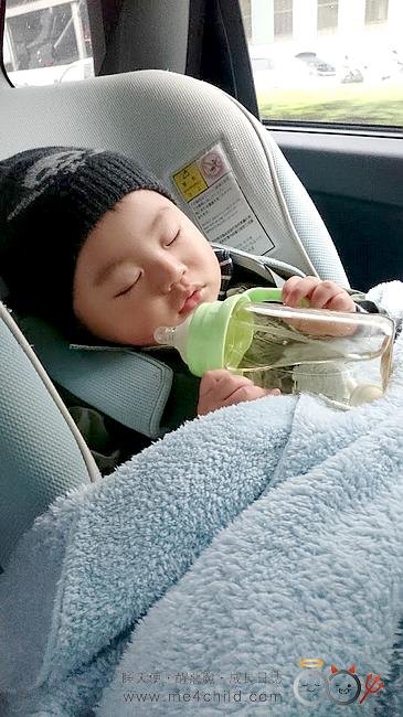 小章魚汽座-睡