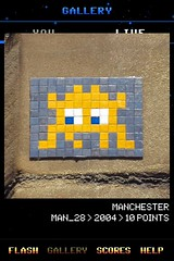 MAN_28 , Invader, Flash Invaders, street art Manchester