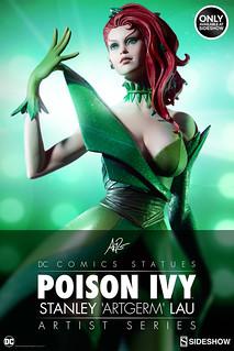 清新森林系女孩?!Sideshow DC Comics 【毒藤女】Poison Ivy 1/5 比例全身雕像作品