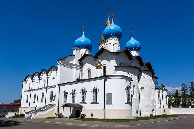 Annunciation Cathedral in the Kazan Kremlin