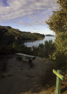 Abel Tasman lookout point