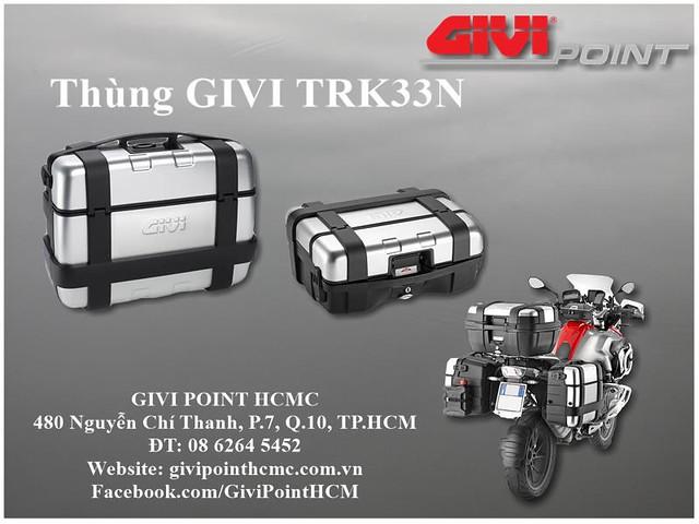 Thung xe Givi - 32