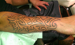 tribal sleve tattoo 3