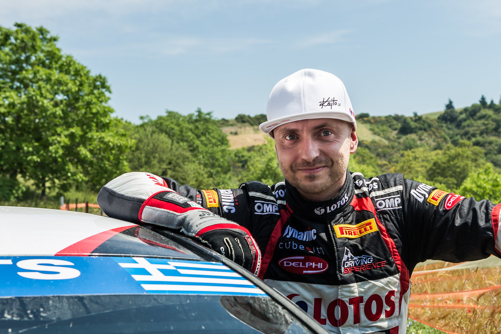 KAJETANOWICZ Kajetan (pol) ambiance portrait during the European Rally Championship 2017 - Acropolis Rally Of Grece - From June 2 to 4 - Photo Thomas Fenetre / DPPI