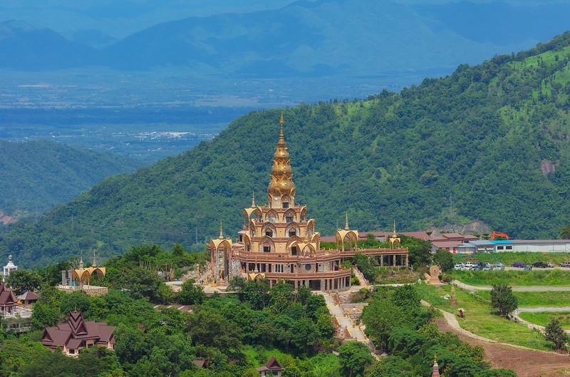 Pagoda flor de loto de 5 niveles