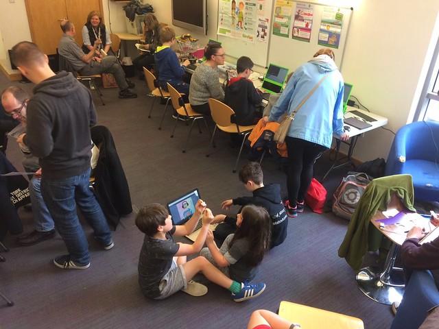 Kids hacking stuff