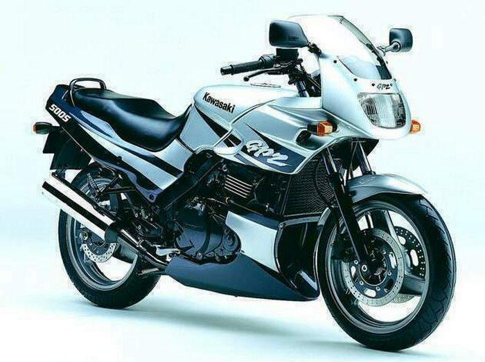 Kawasaki 500 GPZ 2001 - 14