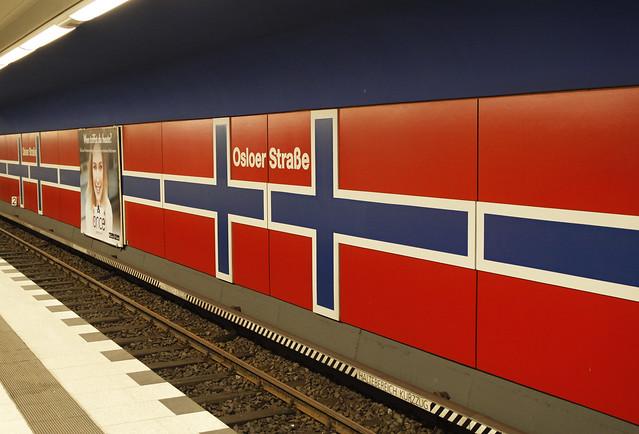 U-Bahnhof Osloer Straße, Canon EOS 50D, Sigma 24-70mm f/2.8 EX