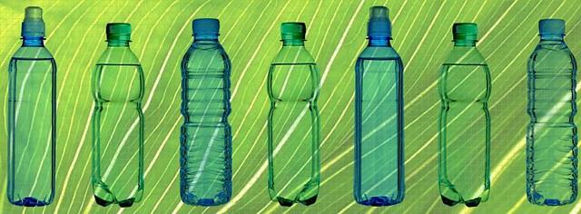 Bioplastic bottles