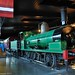 NSW Rail Museum - Oldest resident, 0-6-0 E18, resplendent in the Exhibition Hall. by john cowper