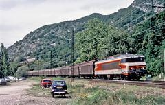6543 Lyon-Modane freight. Brison St. Innocent, Savoie 02 August 2002.