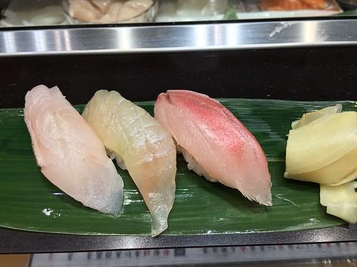 銀座で立ち食い寿司