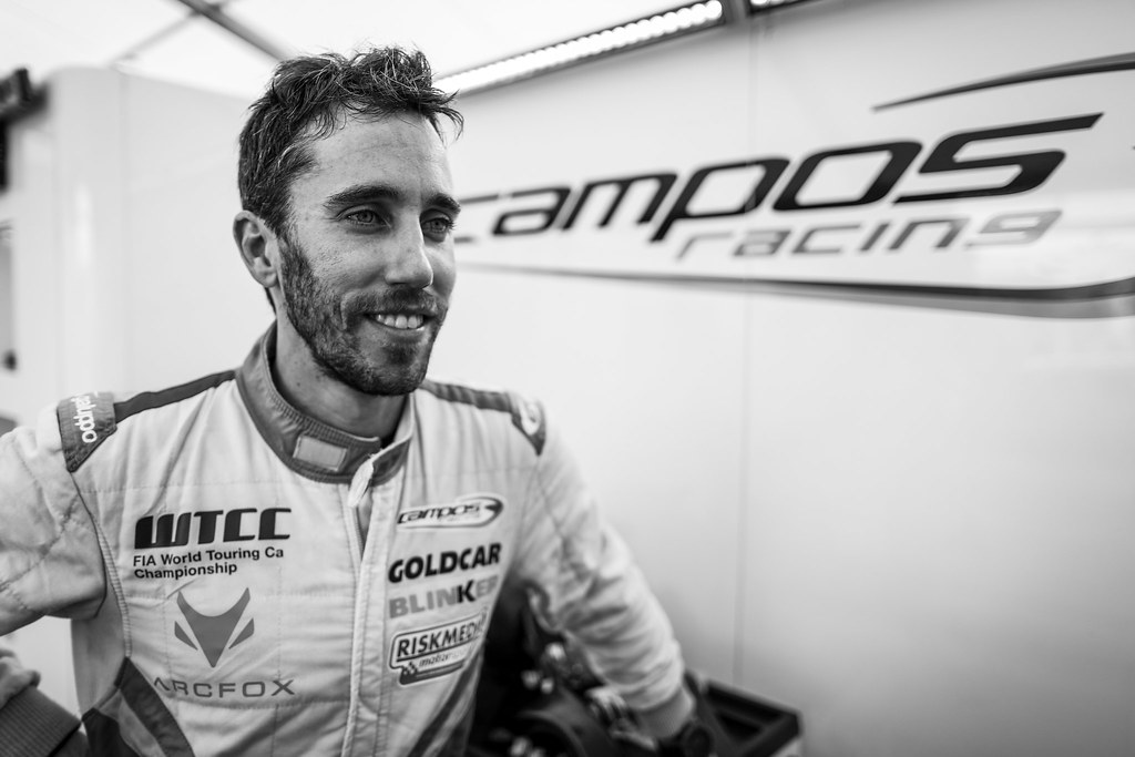 GUERRIERI Esteban (arg), Chevrolet RML Cruze team Campos racing, ambiance portrait during the 2017 FIA WTCC World Touring Car Race of Nurburgring, Germany from May 26 to 28 - Photo Florent Gooden / DPPI