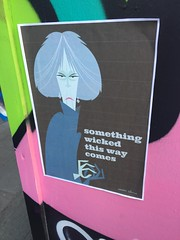 Theresa May wicked poster