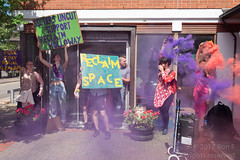 Sisters Uncut occupy Holloway prison 27 May 2017