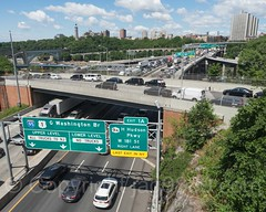 Undercliff Avenue Bridge over the Cross Bronx Expressway, Highbridge, Bronx, New York City