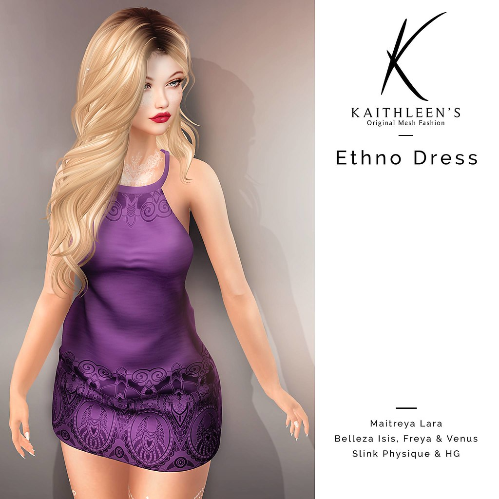Kaithleen's Ethno Dress - SecondLifeHub.com