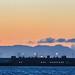 oakland international sunset panorama
