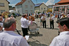 Die Blaskapelle spielt die alten Lieder aus Billed