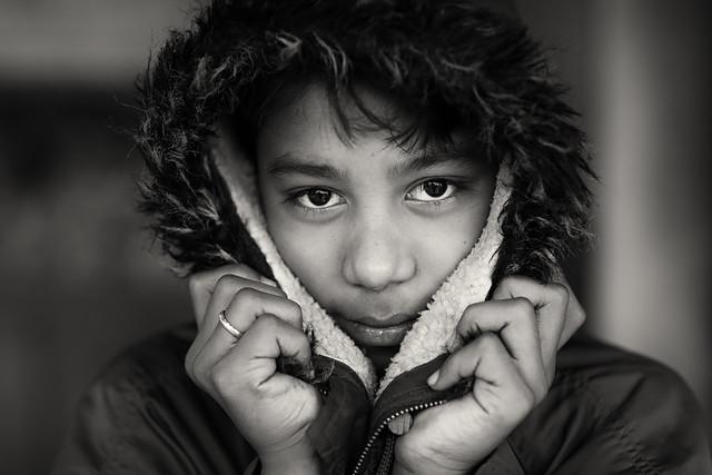 Bangladesh, boy in Kushtia