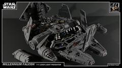 LEGO Star Wars - Millennium Falcon 3 4K