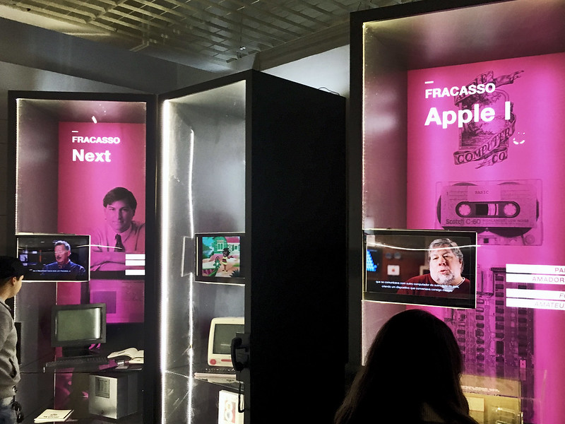 """museu da imagem e do som de são paulo: exposição """"steve jobs, o visionário"""""""