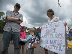 Protest against the Yanez not guilty verdict in the shooting of Philando Castile