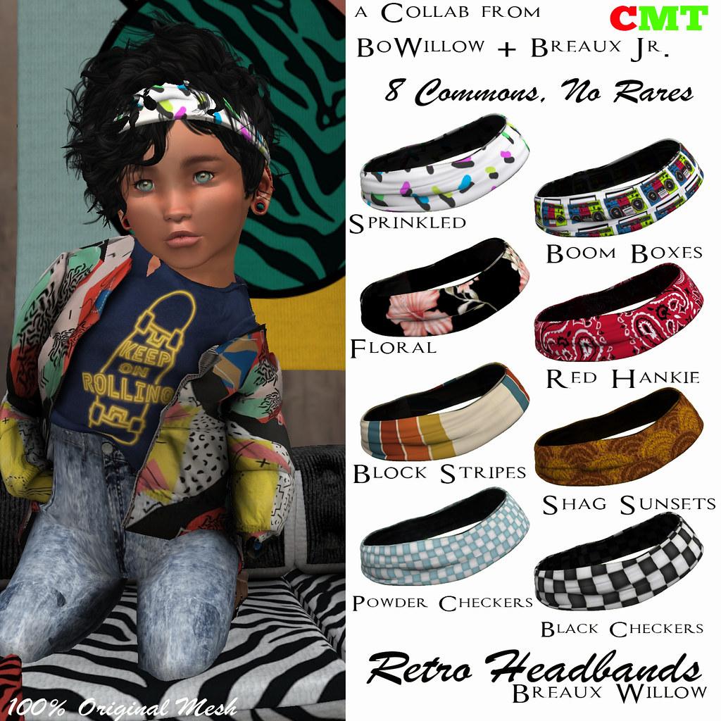 Retro Headbands Gacha Key - SecondLifeHub.com