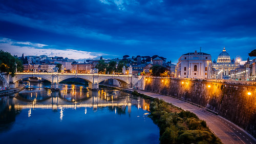 citaeterna italia italien italy latium rom roma romacapitale rome pontesant'angelo engelsbrücke ponsaelius baluestunde orablu