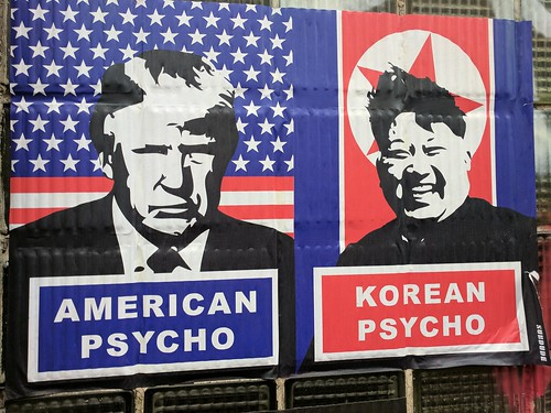 American Psycho Korean Psycho, Charing Cross Road, London, UK