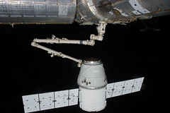 SpaceX Dragon Approach and Grapple