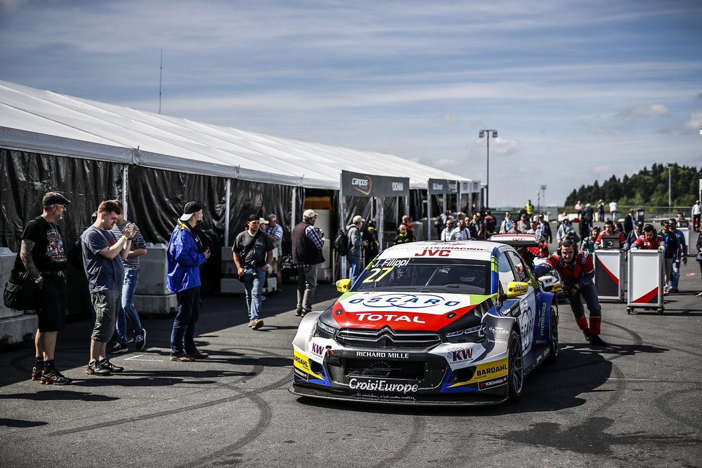 FILIPPI John (fra), Citroen C-Elysee team Sébastien Loeb Racing, ambiance paddock during the 2017 FIA WTCC World Touring Car Race of Nurburgring, Germany from May 26 to 28 - Photo Florent Gooden / DPPI