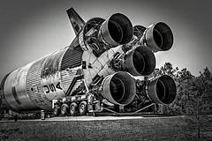 Saturn V Rocket Booster