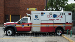 FDNY Haz Tac Ambulance, Lincoln Hospital, Mott Haven, New York City